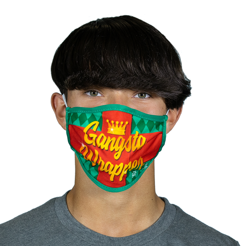 SIX FLAGS HOLIDAY WRAPPER MASK