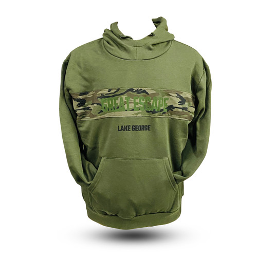 The Great Escape Camouflage Hoodie