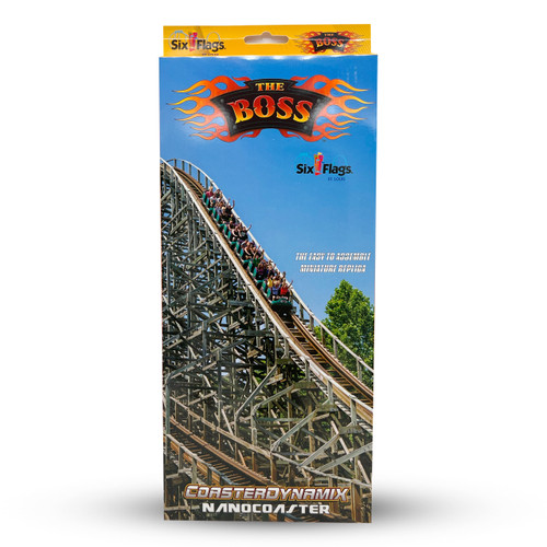 SIX FLAGS NANOCOASTER - SIX FLAGS ST. LOUIS THE BOSS