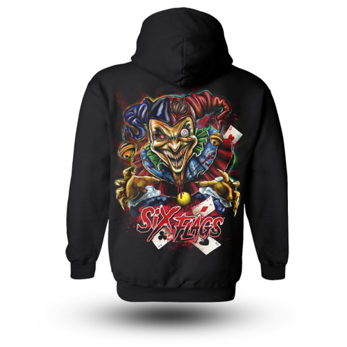 Six Flags Jester Hoodie ADULT