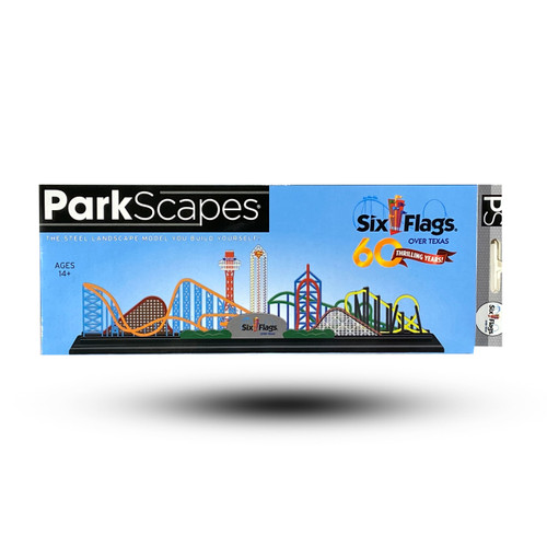SIX FLAGS PARKSCAPES - SIX FLAGS OVER TEXAS
