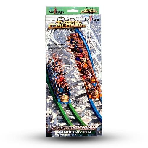 SIX FLAGS NANOCOASTER - Twisted Colossus Magic Mountain