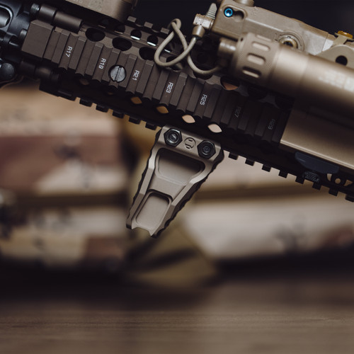 Terra Bronze LDAG on Daniel Defense MK18 FSP RIS II Rail CQBR Insight WMX200