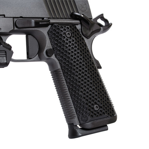 Ascend™ 1911 MiniDot Scales G10 - Nighthawk Custom Agency Arms Agent 1 with Steiner DBAL-PL