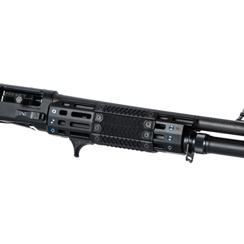 HTP® MLOK Rail Scales in dragon on Agency Arms Benelli M2 MLOK