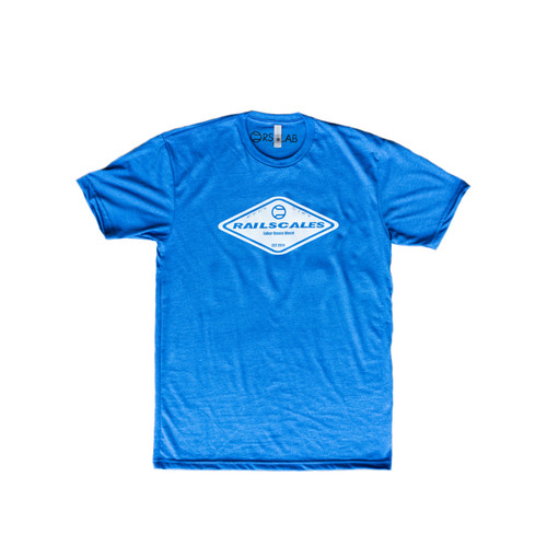 Represent RailScales with our blue diamond-logo shirt and other AR-15 gear