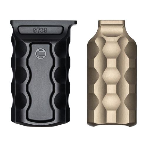RailScales RSB/M vertical fore grip Terra Bronze Carbon Black