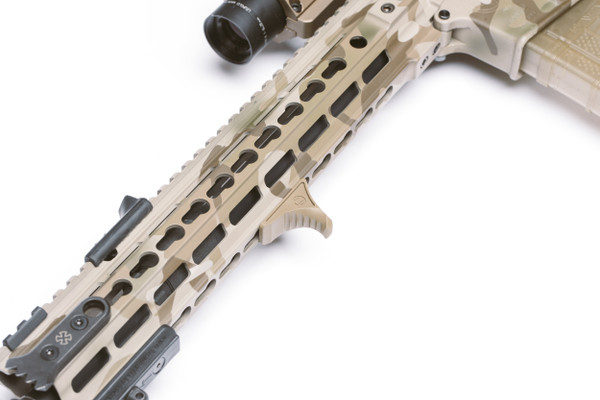 Karve-P® Hand Stop on AR-15 forend from PWS