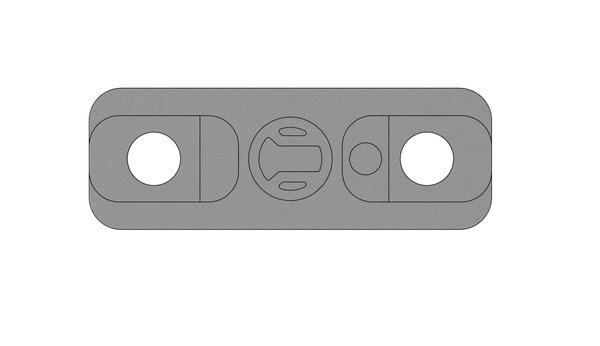 Enjoy a low-profile solution with RailScales' MLOK light mount for surefire scout bodies