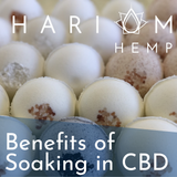 Benefits of Soaking in CBD
