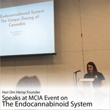 Hari Om Hemp Founder Speaks at MCIA Event
