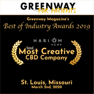 Hari Om Hemp: Most Creative CBD Company of 2019