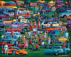 History of Cars, 500pc