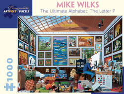 Mike Wilks: The Ultimate Alphabet: The Letter P, 1000pc