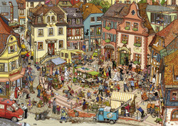 Market Place (Triangular Box), 1000pc
