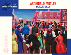 Archibald J. Motley: Black Belt, 1000pc