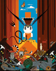 Charley Harper: Canyon Country, 1000pc