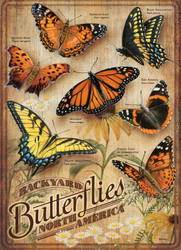 Backyard Butterflies, 500pc