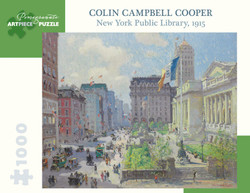 Colin Campbell Cooper: New York Public Library (1915), 1000pc