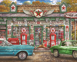 Fred's Service Station, 1000pc