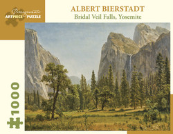 Albert Bierstadt: Bridal Veil Falls, Yosemite, 1000pc