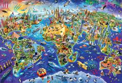Crazy World, 2000pc