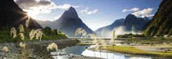 This Heye puzzle depicts a very nice photograph of Milford Sound, a fiord in the southwest of New Zealand's South Island. It is a challenging build, but quite enjoyable due to the quality of the scene captured in the photograph.