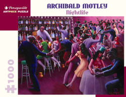 Archibald J. Motley: Nightlife, 1000pc