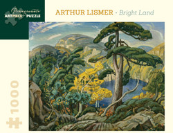 Arthur Lismer: Bright Land, 1000pc