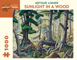 Arthur Lismer: Sunlight in a Wood, 1000pc