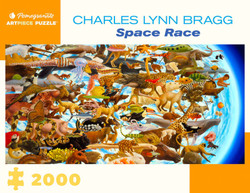 Charles Lynn Bragg: Space Race, 2000pc