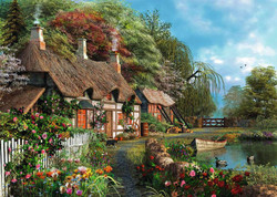 Cottage on a Lake, 300pc (Large Piece)