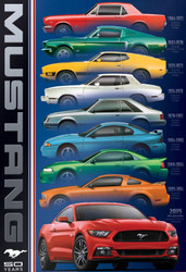 Ford Mustang: 50 Years, 1000pc