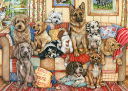 Gathering on the Couch, 1000pc