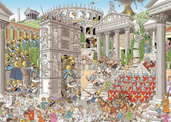 Pieces of History: The Romans (Premium Collection), 1000pc