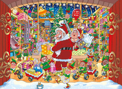 Christmas Collection, #15: Santa's Unexpected Delivery!, 1000pc