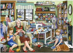 Granny's Sewing Room, 1000pc