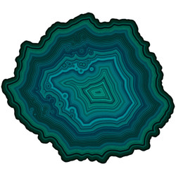 Agate #448, (WOOD) 180pc:  FREE Shipping