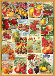 Fruit Seed Catalog Covers, 1000pc