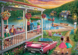 Summer at the Lake, 300pc (Large Piece)