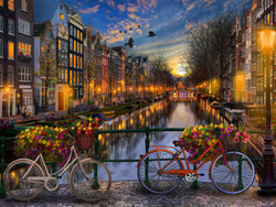 Amsterdam Aglow, 550pc
