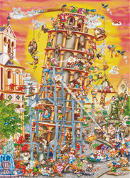 Leaning Tower, 1000pc