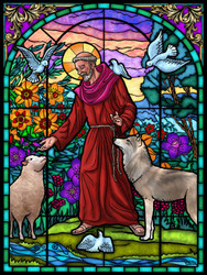 St. Francis of Assisi, 550pc