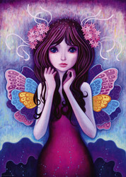 """""""Morning Wings"""" is a delightful puzzle from Heye featuring the work of artist Jeremiah Ketner. It has a fairytale-like aspect to it that is both colorful and visually appealing, making for a very enjoyable puzzling experience."""