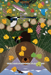 Charley Harper: The Rocky Mountains, 1000pc