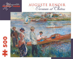 Auguste Renoir: Oarsmen at Chatou, 500pc
