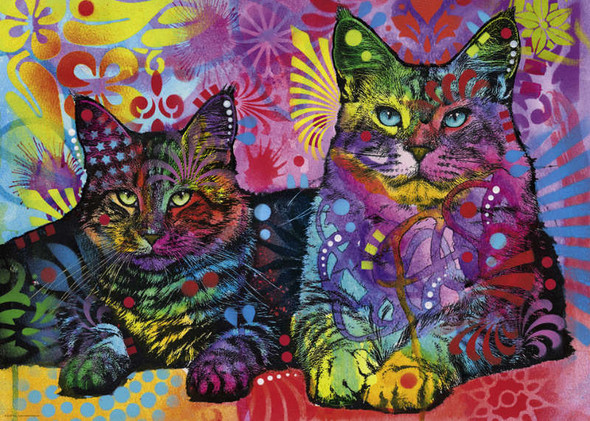 Jolly Pets: Devoted 2 Cats, 1000pc