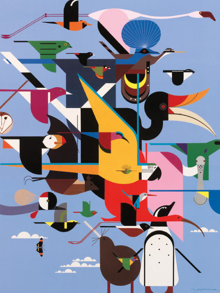 Charley Harper: Wings of the World, 300pc