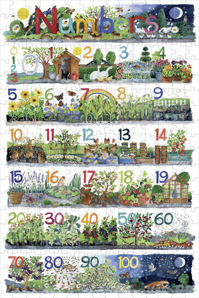 Claire Winteringham: Numbers, 300pc