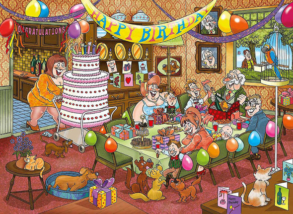 Mystery Collection, #16: Birthday Surprise!, 1000pc